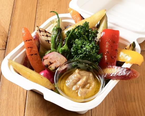 ZENON SAKABA彩り野菜のバーニャカウダ